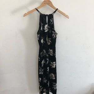 Dresses & Skirts - Black floral dress size XS